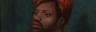דיוקן של גבר אפריקני, יאן מוסטרט