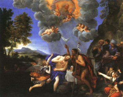 טבילת ישוע, פרנצ'סקו אלבני