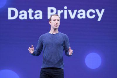צוקרברג, פרטיות, פייסבוק נתונים