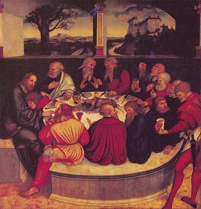 הסעודה האחרונה, לוקאס קראנאך האב
