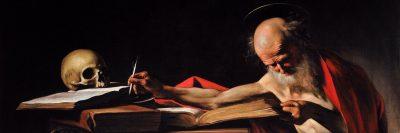 היירונימוס הקדוש כותב, קראוואג׳ו