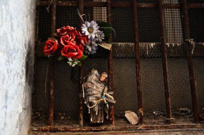 בית קברות, קבר, נפולי, קדושים, פרחים, נצרות