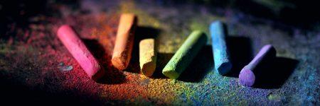 גירים צבעוניים, צבע, מגוון