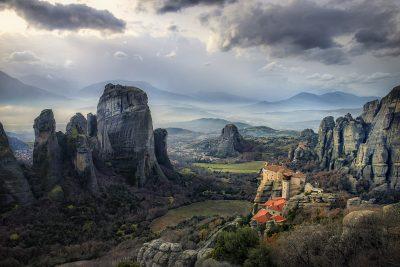 מטאורה, יוון, מנזרים