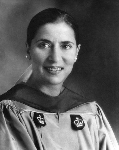 רות ביידר גינסבורג, פרופסורית
