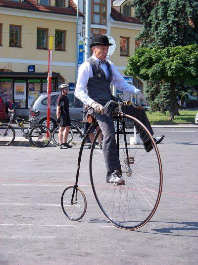 אופניים, ויקטוריאניים, פני-פרת'ינג