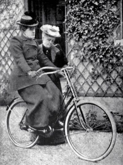 פרנסנס וילארד, אופניים, נשים