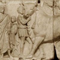 מזבח אהנוברבוס, הרפובליקה הרומית