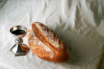 לחם ויין, סקרמנט, נצרות