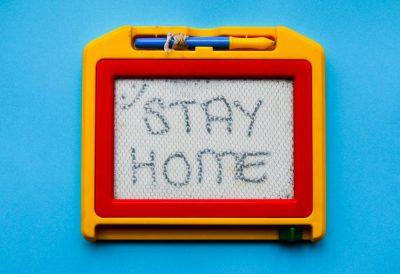 להישאר בבית, למידה מרחוק