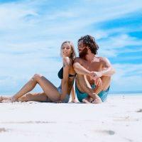 זוג, חוף הים, אהבה