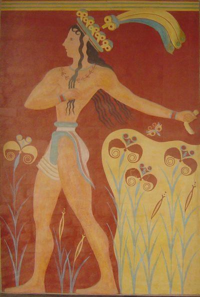 קנוסוס, כרתים, נסיך, פרסקו