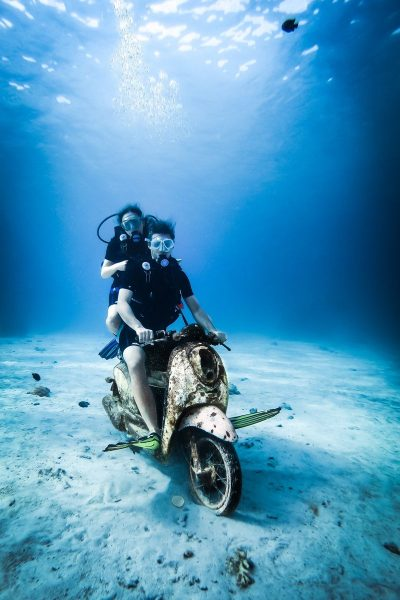 פהוקט, תאילנד, אופנוע, ים, צלילה