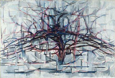 עץ אופקי, פיט מונדריאן
