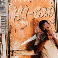 פחונים, שכונת עוני, ג'מייקה, גבר שחור