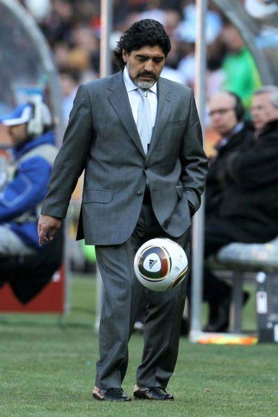 מרדונה, משחקי הגביע העולמי, 2010