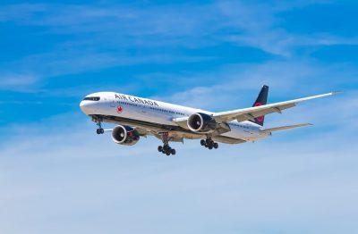 מטוס סילון, מטוס נוסעים, אייר קנדה