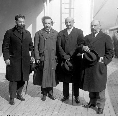 איינשטיין, חיים וייצמן