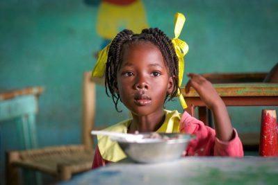 ילדה, רעב, האיטי, כיתה, בית ספר