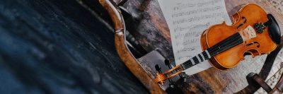 כינור, תווים, מוזיקה