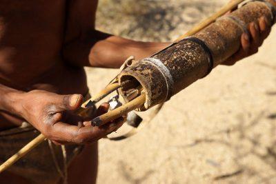 נמיביה, ילידים, חיצים, ציידים לקטים, סאן