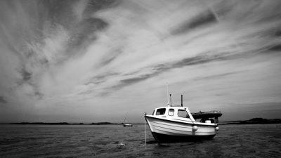 סירה, ים, גאות ושפל