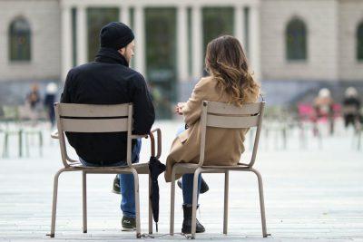 שיחה, משוחחים, גבר ואישה