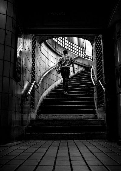 לונדון, מדרגות, רכבת תחתית