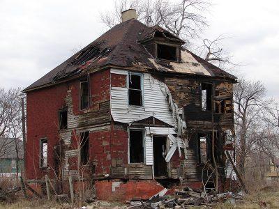 בית שרוף, שריפה