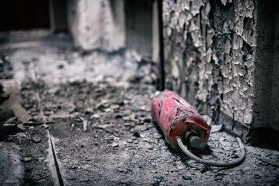 שריפה, מטף, חדר
