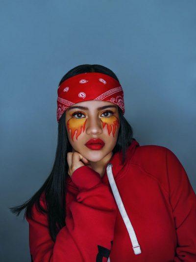 בחורה, לטינית, קולומביה