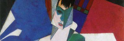 ז'אן מצינגר, אישה בשולחן האיפור
