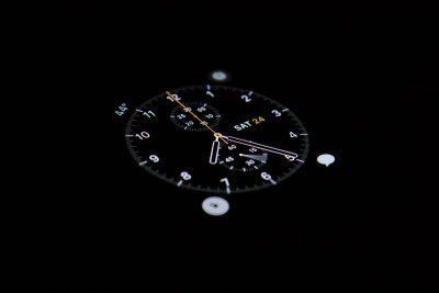 שעון עצר, מדידה
