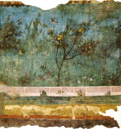 ליוויה, גנים, תמשיח, פרסקו, וילה, רומא