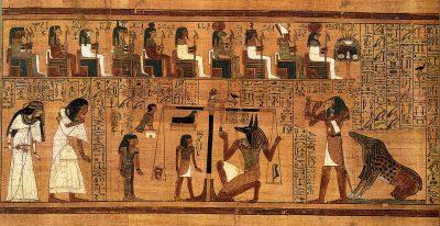 שקילת הלב, מצרים העתיקה, ספר המתים