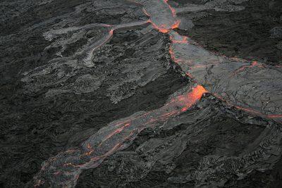 לבה, הר געש, הוואי