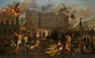ז'ואאו גלאמה סטרוברלה, רעידת אדמה, ליסבון, 1755