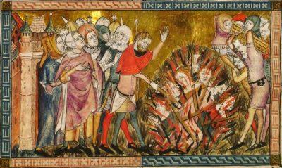 יהודים נשרפים על המוקד, פלנדריה, המוות השחור, מגפה, דבר