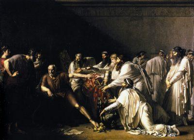 היפוקרטס מסרב למתנות של קיסר פרס,