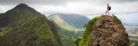 פסגה, הר, טיפוס, נוף, מטפס