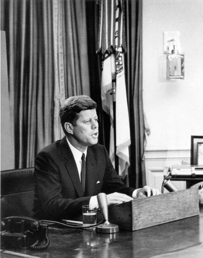 ג'ון פ. קנדי, זכויות אזרח