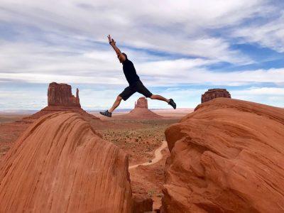 קפיצה, סיכון, סלעים