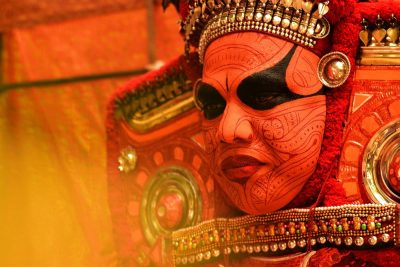 Theyyam, אלים, פולחן, במה, הודו, קראלה