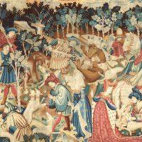 ציד חזירי בר ודובים, The Devonshire Hanging Tapestries
