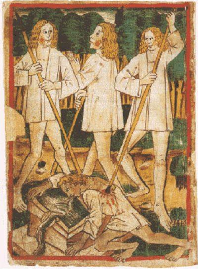 ניבלונגים, מותו של זיגפריד