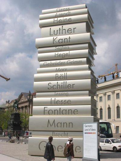 ברלין, דרך הרעיונות, דפוס, ספרות, גרמניה