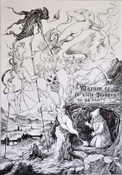 אנטוניוס הקדוש, נקודא זינגר