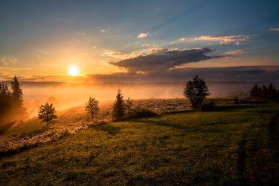 שקיעה, זריחה, אור השמש, שמש, אור טבעי