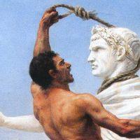 ז'וזף-נואל סילבסטר, ויזיגותים בוזזים את רומא, שנת 410