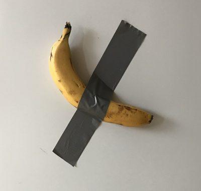 מאוריציו קטלאן, בננה, אמנות קונספטואלית